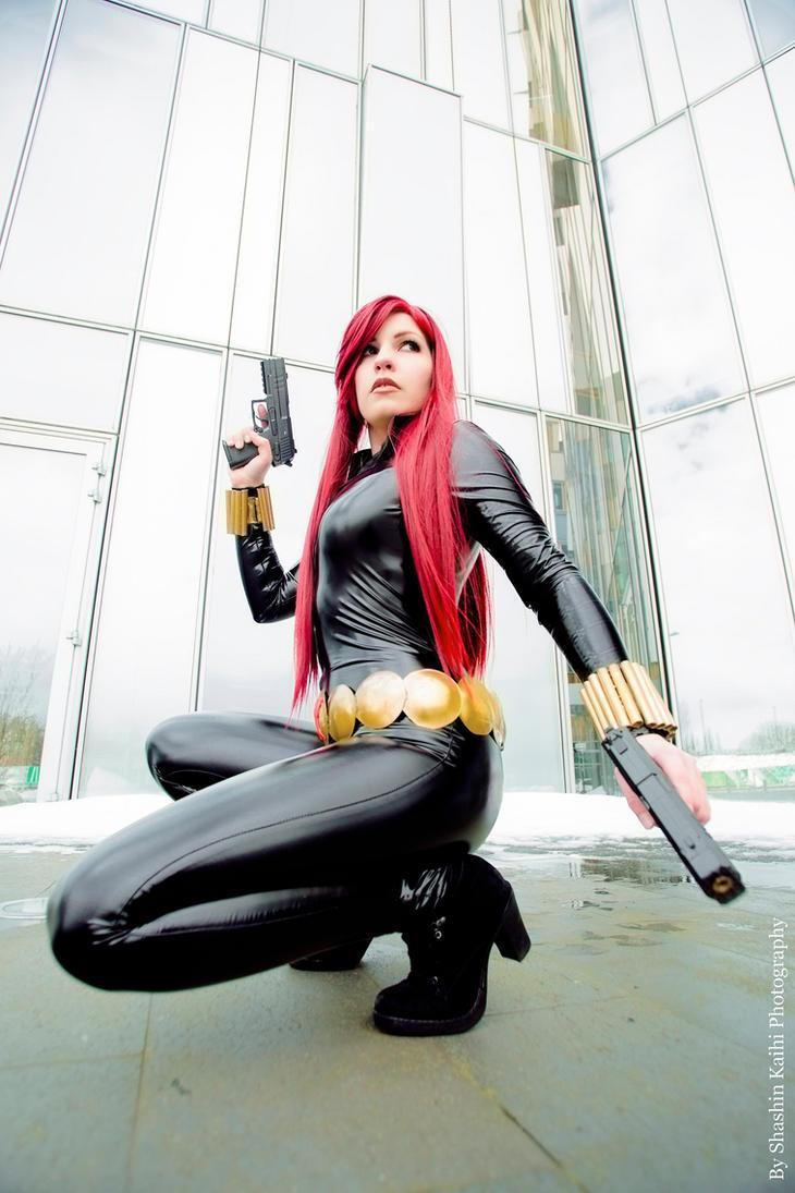 The Black Widow by MllAyuko
