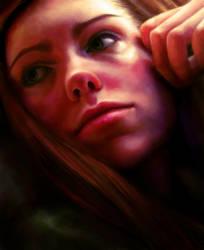 self portrait by magicnmyth