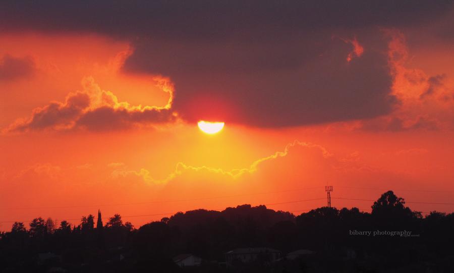Urban Sunset by bibarry