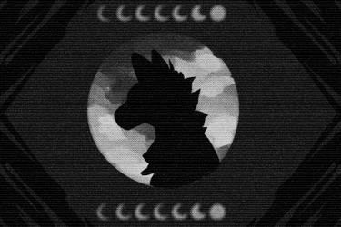 Moonlight Howls by Bluepup429