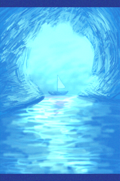 Icey Cave by Bluepup429