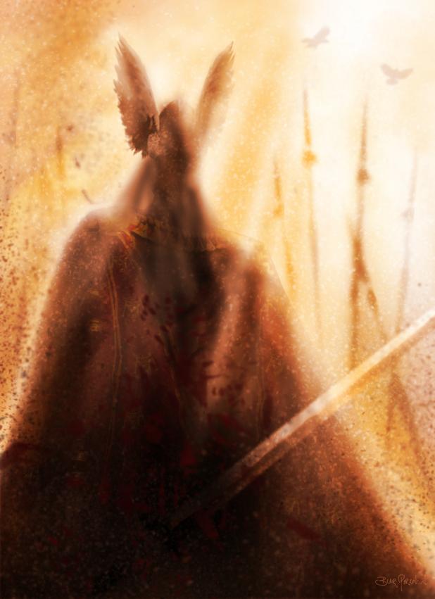 Odin Hildolfr by LivingHorus