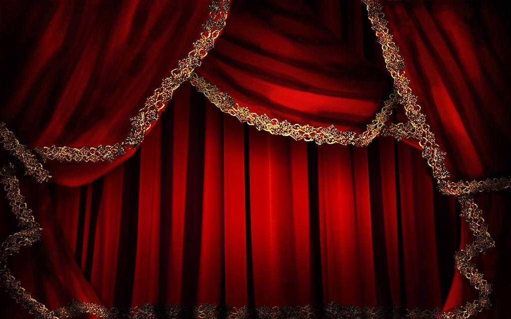 Curtain Design - Anna Bolena Act 1, OperaBox 2015 by LivingHorus