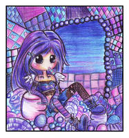 Ceci and Purple Sweets by kayeah