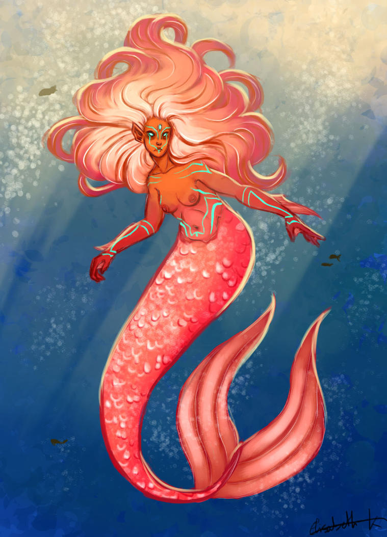 Mermaid by lisannexd
