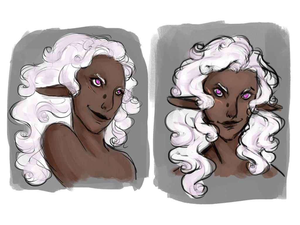 Syrraena sketches by lisannexd