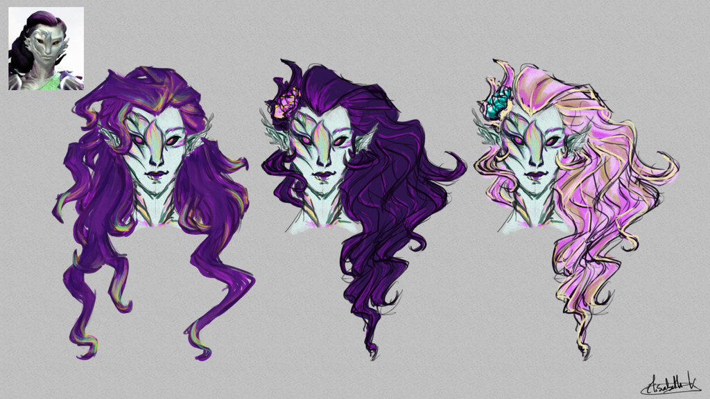 Venryssa Sketches by lisannexd