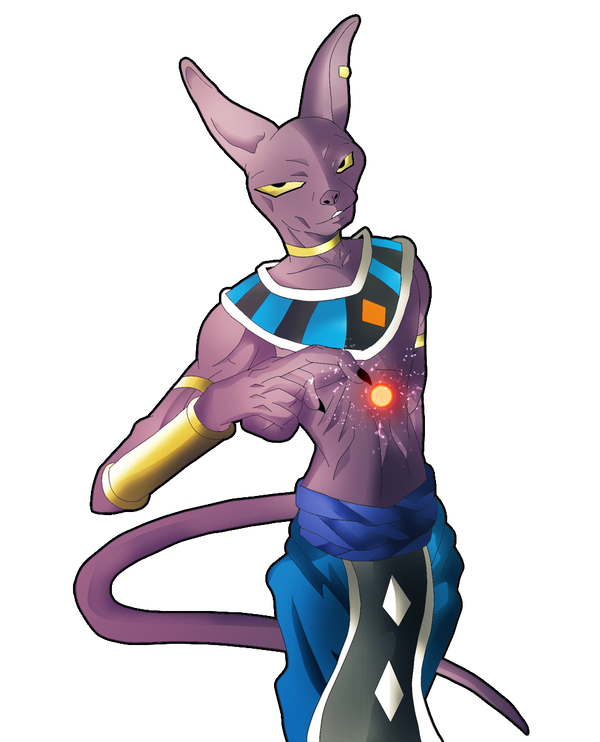Lord Beerus, The God Of Destruction By SuperBeo On DeviantArt
