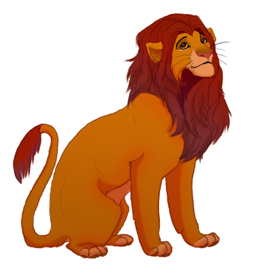 Simba by scribblerian