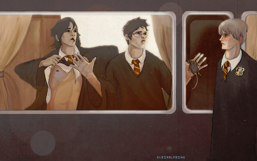 Prefect Remus by scribblerian