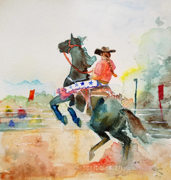 Rodeo by scribblerian