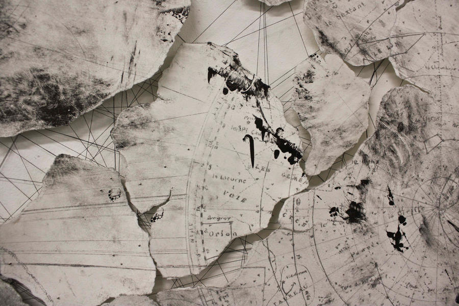 Traces Beneath (detail) by kettle-rocking-one