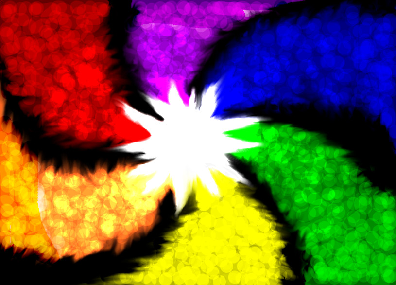Color Wheel Background By Taraye