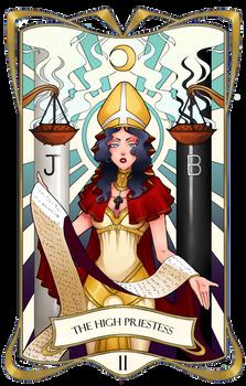 Tarot Card II - The High Priestess