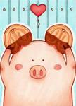ACEO #18 Schweinsoehrchen
