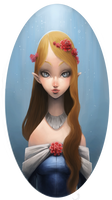Practice - Elven Maiden
