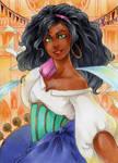 ACEO #79 Esmeralda