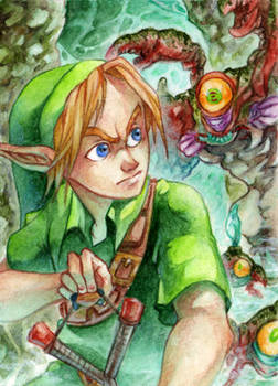 #89 OoT - Link and Gohma
