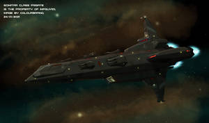 Scimitar frigate Bellephron