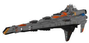 Siege Armageddon Warcruiser original