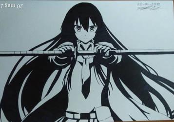 Akame ga kill: Akame by crazyskull96