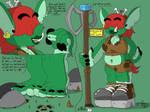 Esmerelda the human bounty hunter