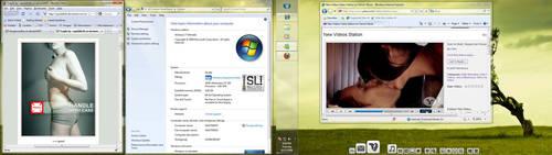 Win 7 64bits new desktop by DangerousBoy