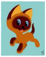 The Kitten Named Gav by Goldy--Gry