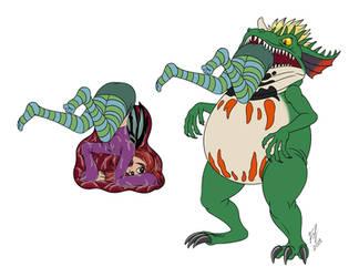 Terror Toad noms by Goldy--Gry
