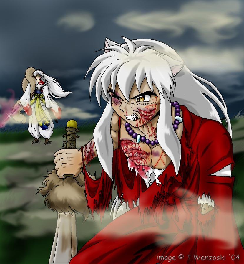 212 Best Images About Inuyasha Inuyasha X Kagome On: InuYasha Vs Fluffeh By Akitohedgehog On DeviantArt