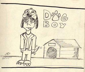 El chico Perro by atilagorn
