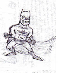 Batman by atilagorn