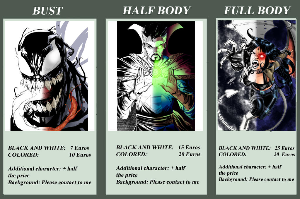 Comission sheet by Jefra