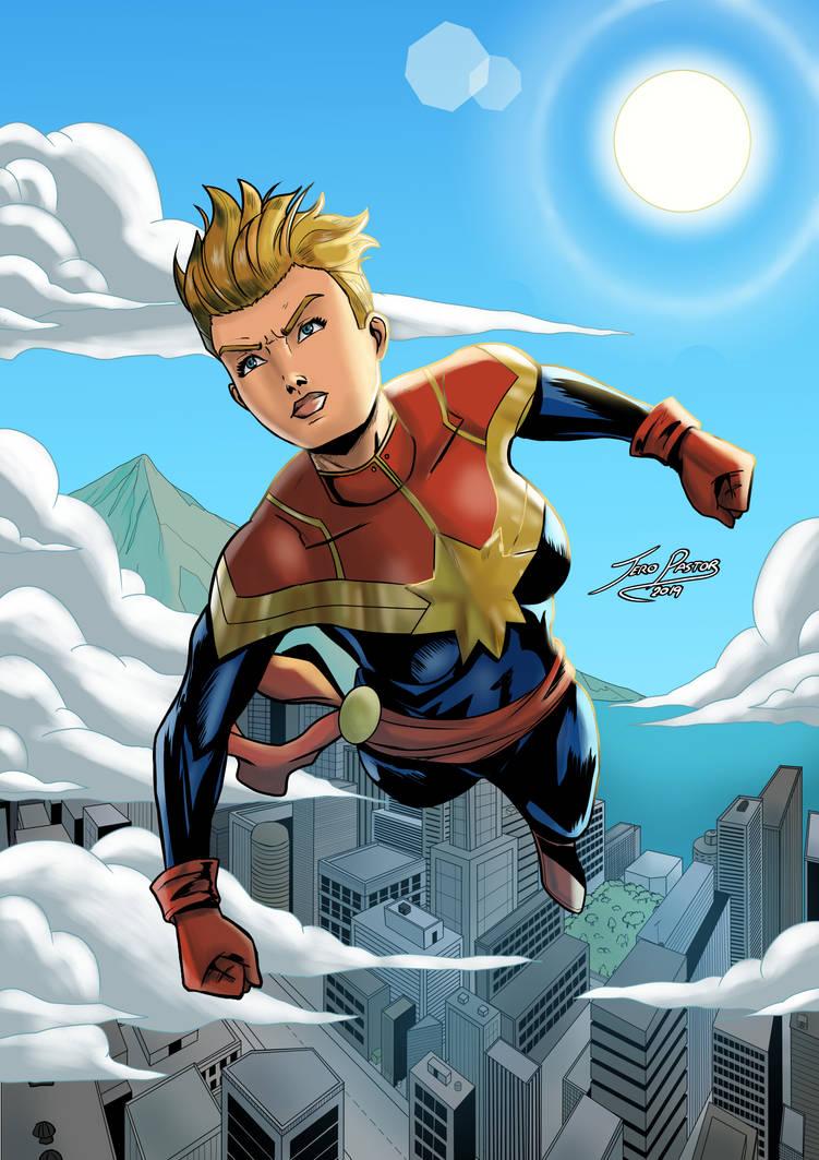 Captain Marvel by Jefra