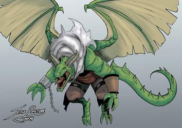 [COMM] Geoffroy dragon by Jefra