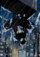 Black suit Spider-Man by Jefra