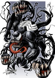 Beast Vemon by Jefra