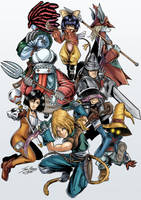Final Fantasy IX Fan Art by Jefra