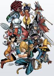 Final Fantasy IX Fan Art by Jero-Pastor-Art