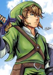 Link: Zelda- Skyward Sword by Jefra