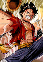 Luffy by Jefra