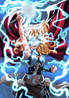 Thor (Jane Foster) by Jefra
