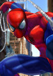 Spider-Man (Semi Realistic Style) by Jero-Pastor-Art