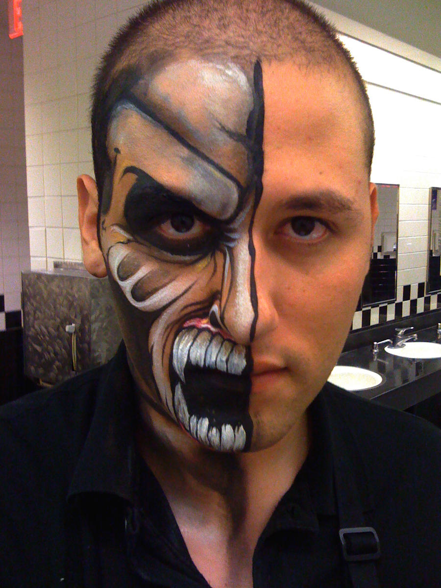 Макияж на хэллоуин для мужчин фото