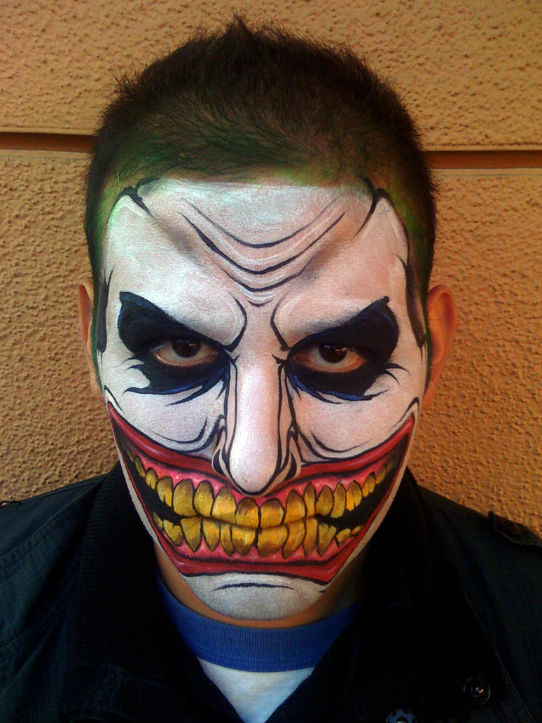 Joker full face by ronniemena on deviantart joker full face by ronniemena solutioingenieria Choice Image