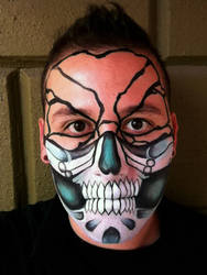 Skull Mask 33 by RonnieMena