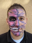 Purple Monster Face