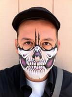 Purple Skull Mask by RonnieMena