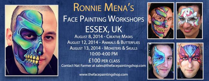 UK Workshops by RonnieMena