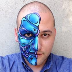 Blue by RonnieMena